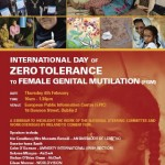 Seminar: International Day Zero Tolerance to FGM – 4th February