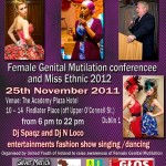 FGM conference and Miss Ethnic Ireland 2010