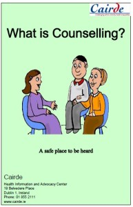 What's counselling? A new resource by Cairde
