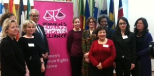 UN Special Rapporteur gives keynote address at Women's Human Rights Alliance Conference