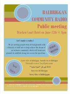 BCR Pub Meet poster
