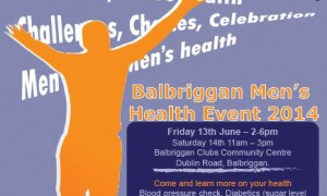 Balbriggan Men's Health event- Fri 13th & Sat 14th