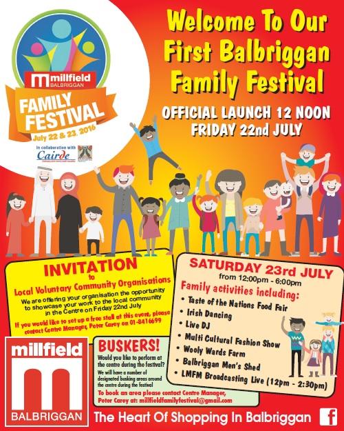 millfield family festival poster july2016