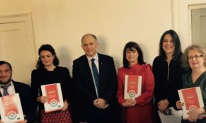 Proiectos Romano – A study of Roma communities in Balbriggan was launched today by Minister David Stanton and Chief Commissioner Emiliy Logan