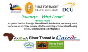"""""""Journeys – What I Know Now"""" – Cairde at First Fortnight Mental Health Arts Festival 2020"""