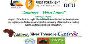 """Journeys – What I Know Now"" – Cairde at First Fortnight Mental Health Arts Festival 2020"