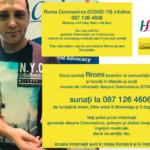 New Roma Covid infoline 087 126 4606 (în limba Română și în limba Rromă)